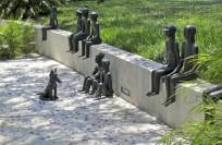North entrance / sculptures by Gabi Schnitzenbaumer