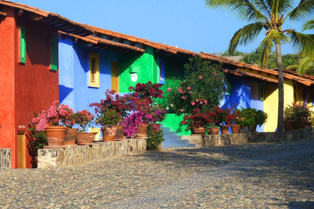 Jazmin luxury casita at playa rosa beach costa careyes - Casitas de playa ...