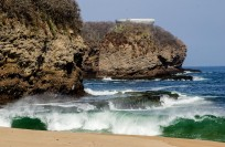 Teopa Beach with partial view of la Copa. Another landing site for aliens?