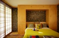 Japanese Bedroom with Shoji screen